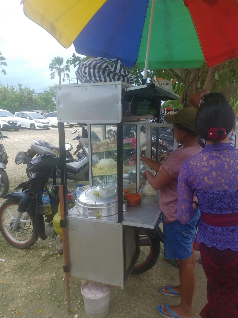 street food in Canggu