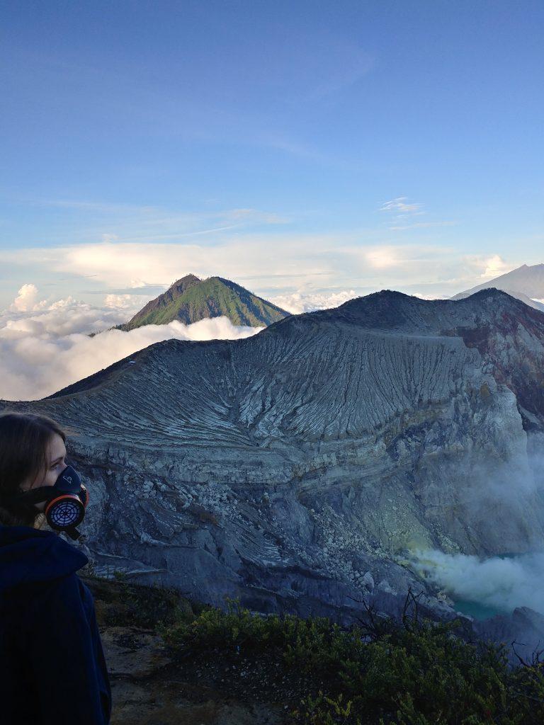 Mount Ijen and the sulfur mine