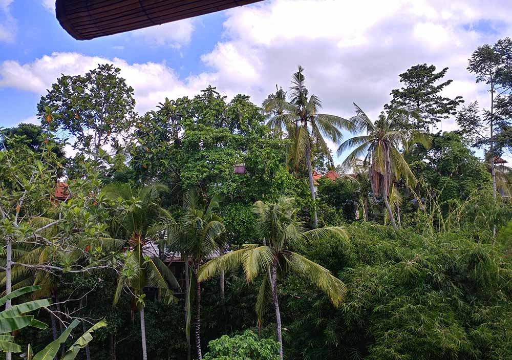 balcony in Ubud