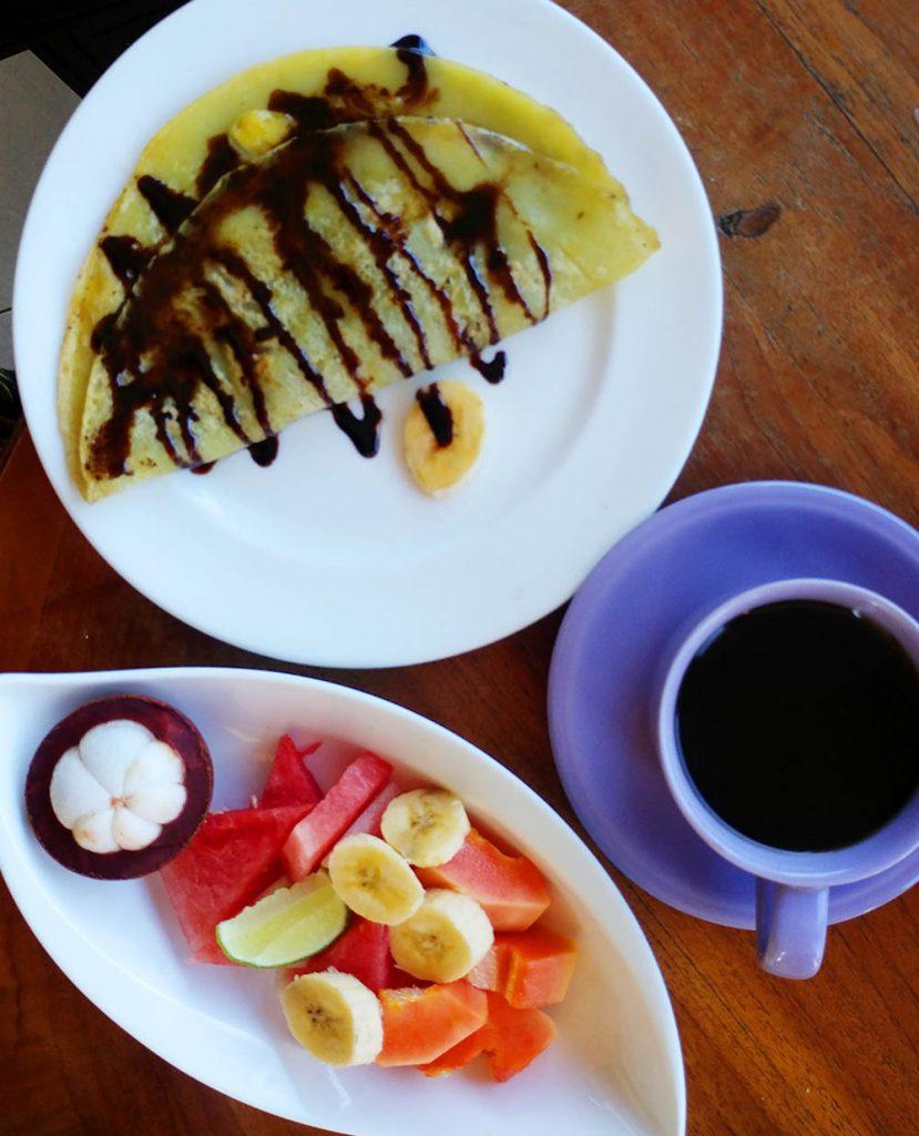 daily breakfast in Ubud