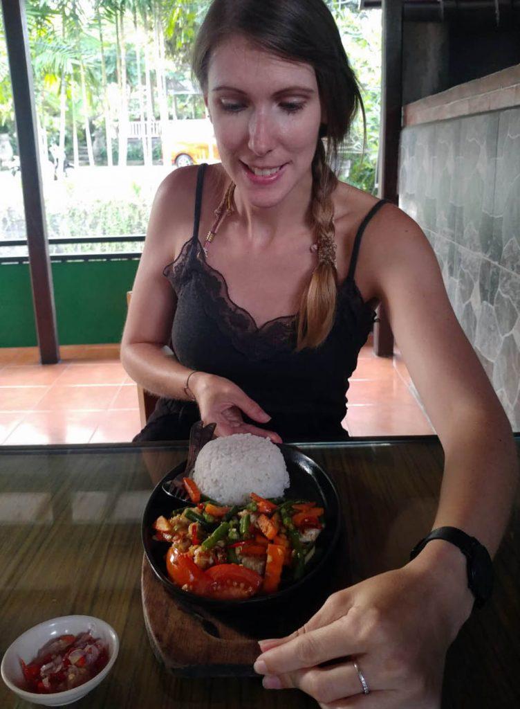 Tuna Bakar at Warung Mangga Madu