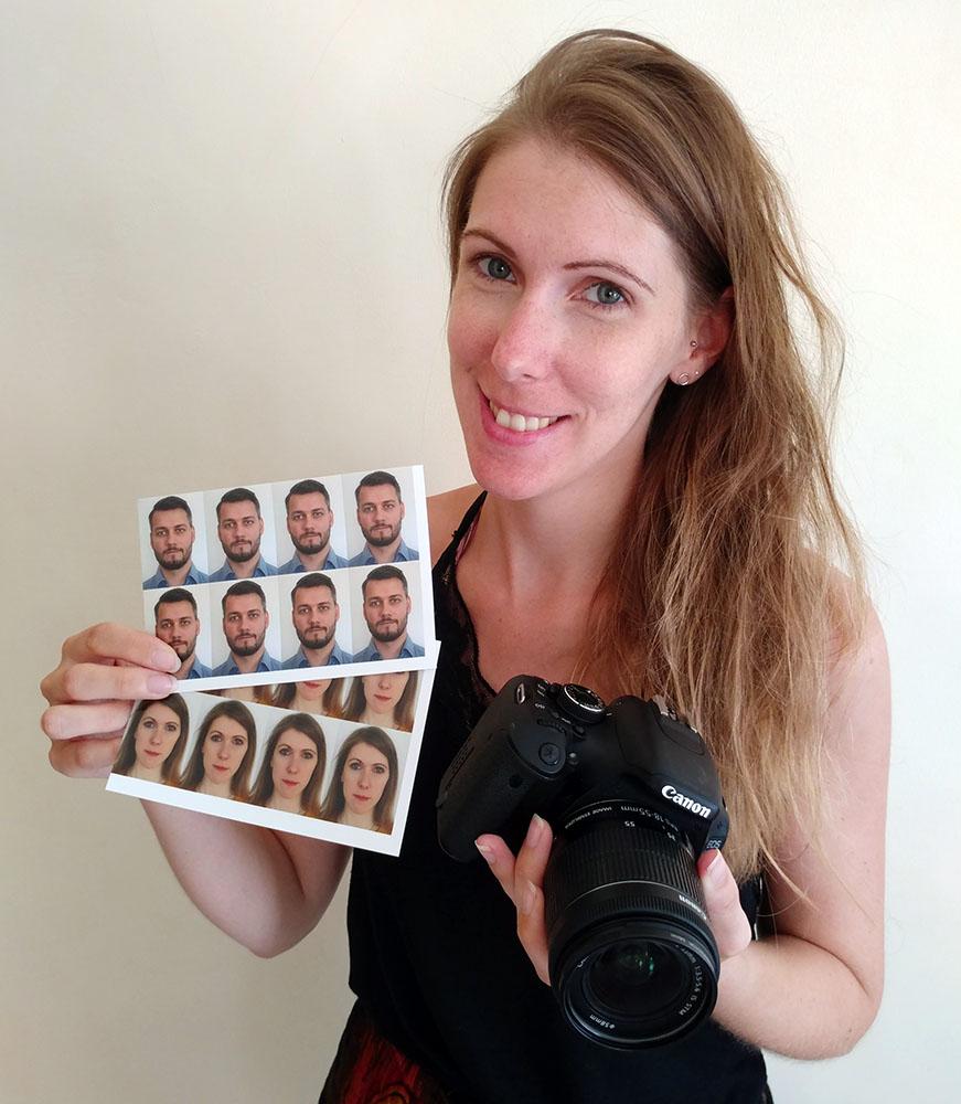 Mercedes and the DIY passport photos