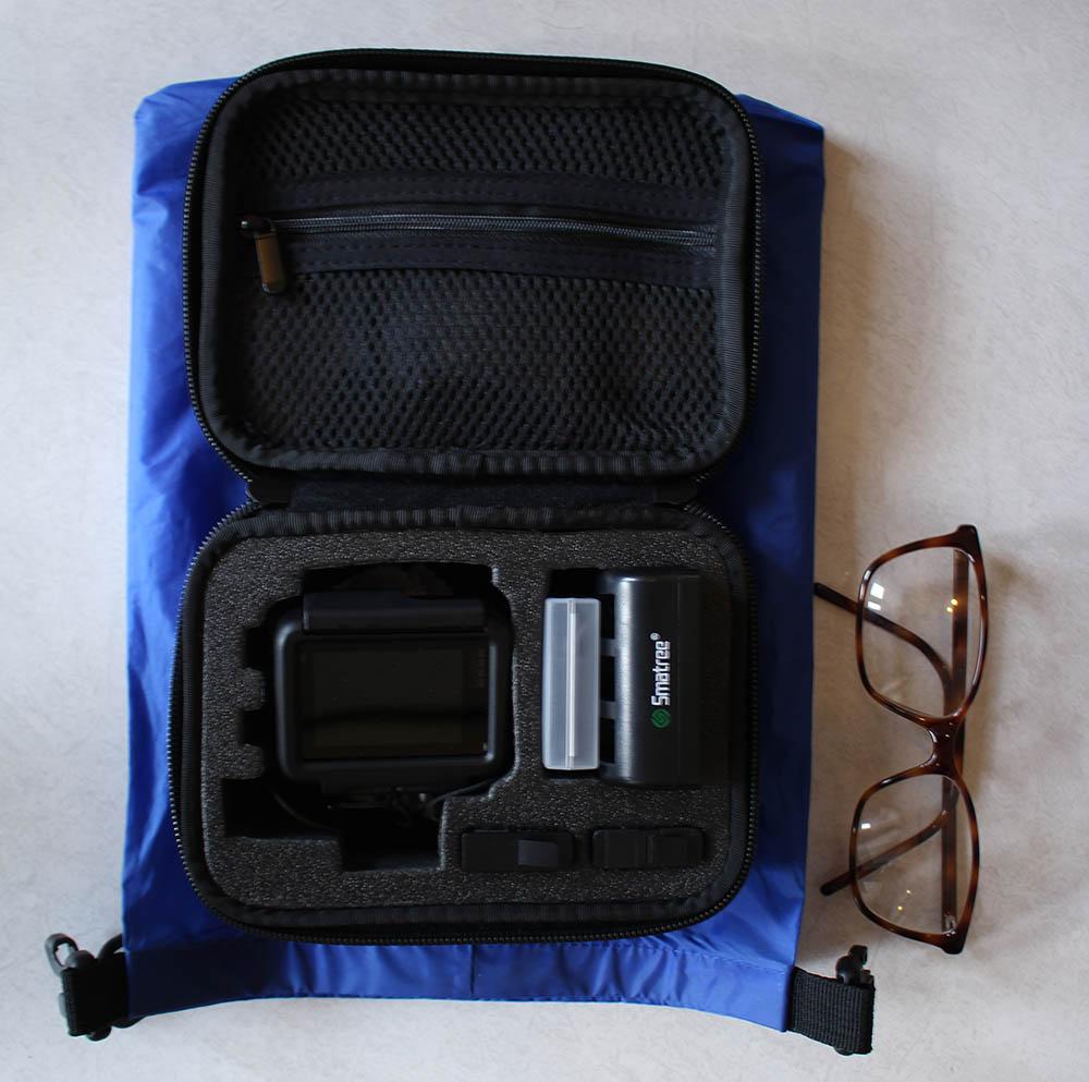 inner side of the GoPro case
