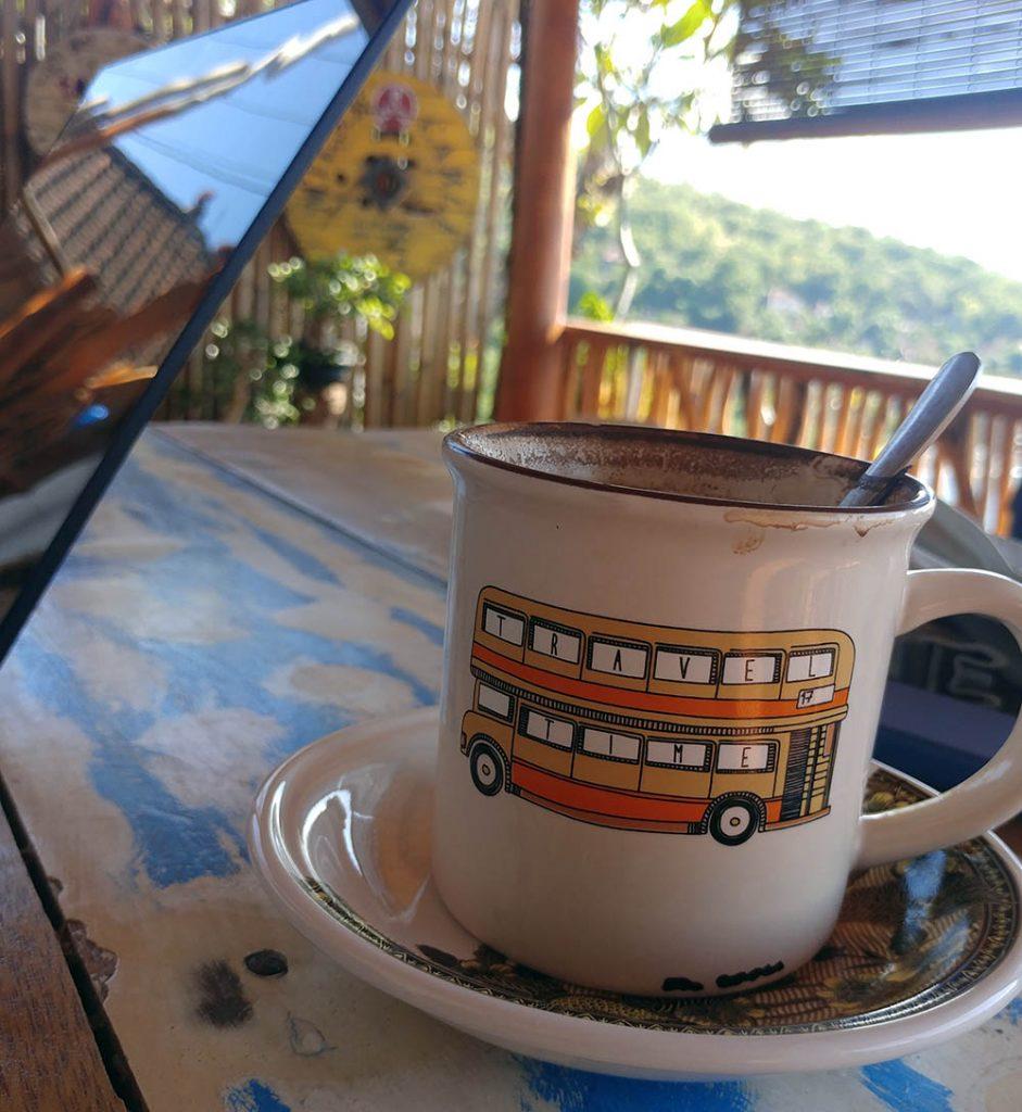 best Bali Kopi at See you again Café
