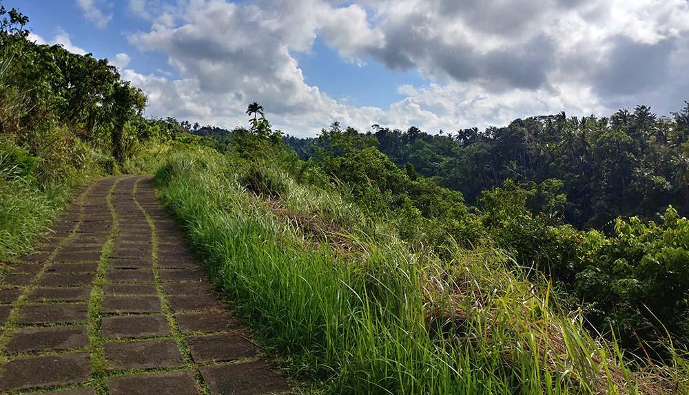 alone at the ridge walk