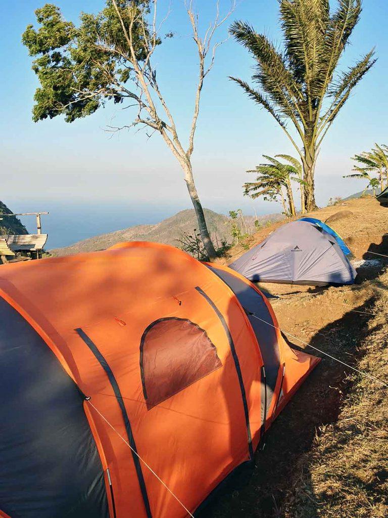 camping at Lahangan Sweet