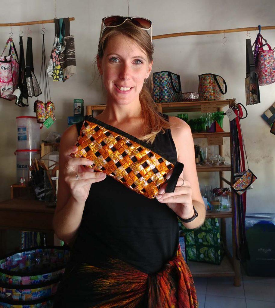 purse from Peduli Alam