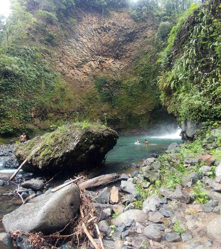 formation at Tiu Saong Waterfall