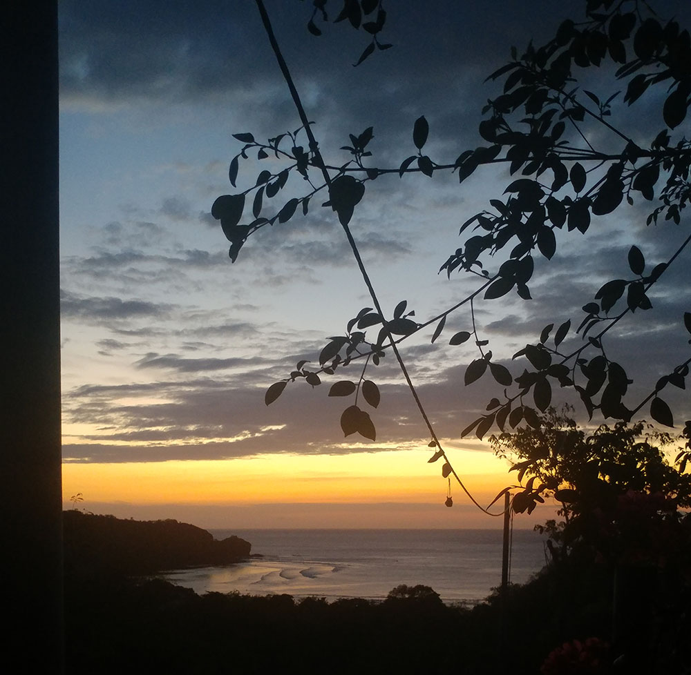 Sunset at Merdeka House