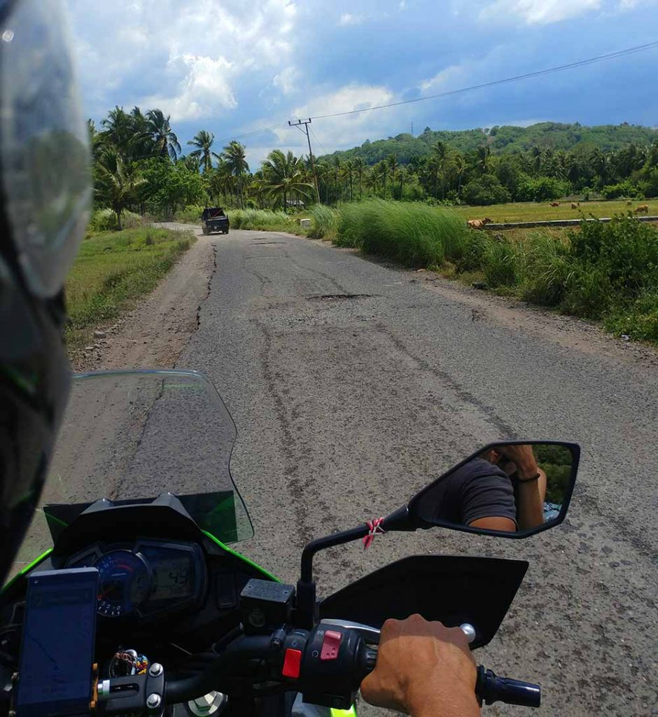 on the roads of Flores