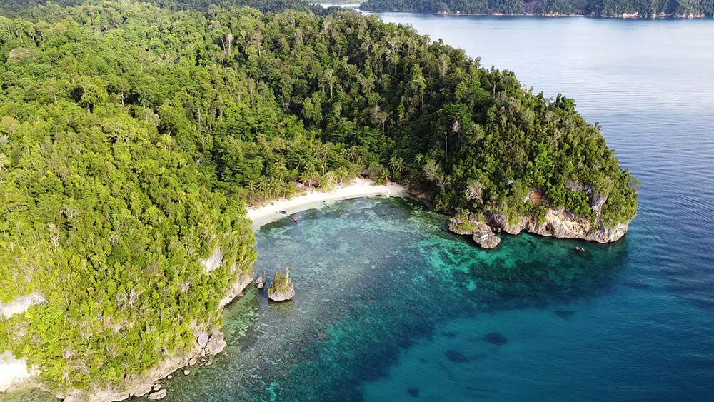 Harmony Bay at the Togean Islands